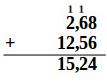 Basic Numeracy Test add decimal numbers