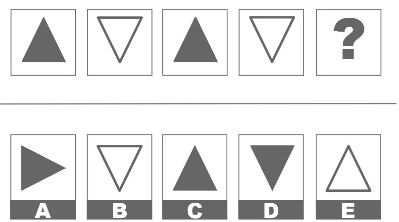 CCAT Spatial Reasoning Example of Logical Sequence Question