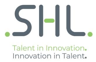 SHL Logo